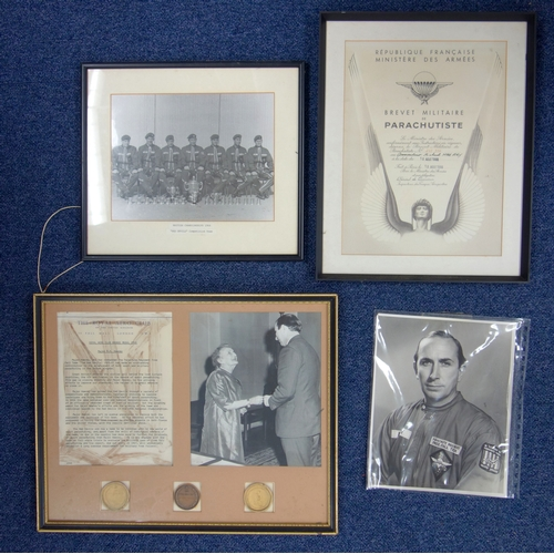 285 - GROUP OF SIX MEDALS AWARDED TO MAJOR MICHAEL RAY HEEREY (''MIKE'') (16.2.26 - 31.5.19) COMPRISING TH...