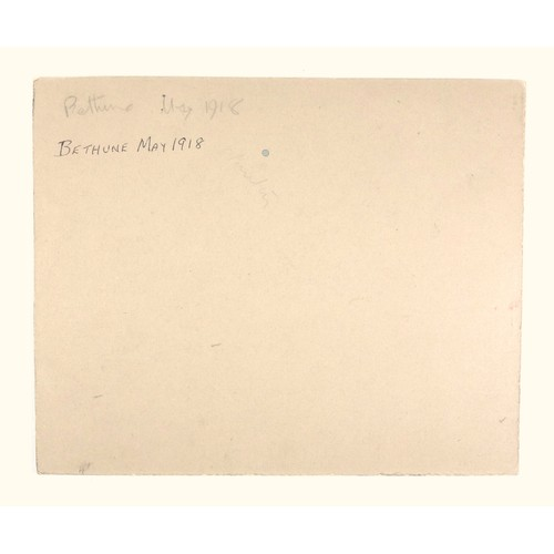 12 - CHARLES REBEL STANTON (1890-1954), WW1, FRANCE, 'BETHUNE, MAY 1918', SIGNED BOTTOM LEFT, AND INSCRIB...
