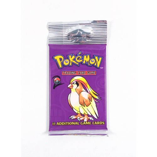 27 - Pokémon TCG Base Set 2 Booster Pack - Pidgeot, sealed in original packaging.  From a box of 72 unope...