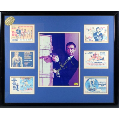 """44 - Sportizus signed photographic image of Sean Connery from the 1966 James Bond film """"You Only Live Twi..."""