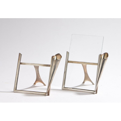 57 - Pair of Victorian silver picture frames Pair of Victorian silver picture frames, Chester 1898, maker...