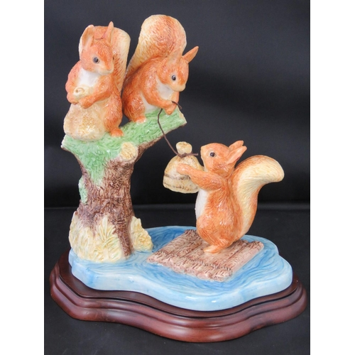 508 - Border Fine Arts. A Beatrix Potter Classics figurine Sailing Home No 1074 of 1250, complete with box...
