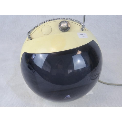682 - A JVC Videosphere 'space helmet' television. Model 3240UK....