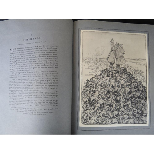 850 - Book. Louis Raemaekers. The Great War in 1916. A Neutrals Indictment. Sixty Cartoons. As published b...