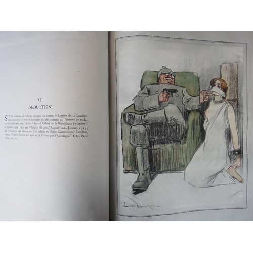 852 - Book. Louis Raemaekers. The Great War. A Neutral's Indictment. One Hundred Cartoons. As published by...