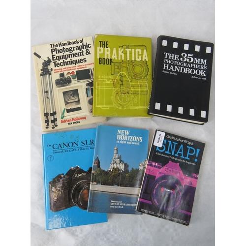 837 - Quantity of camera themed books....