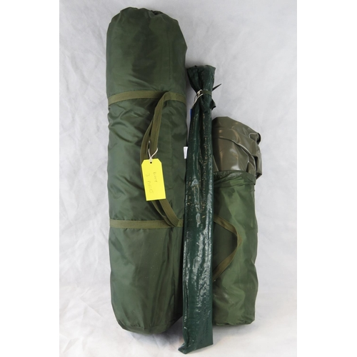 121 - A three-piece 'bivvy' used only once by Bob Church. From the personal collection of Bob Church two t...