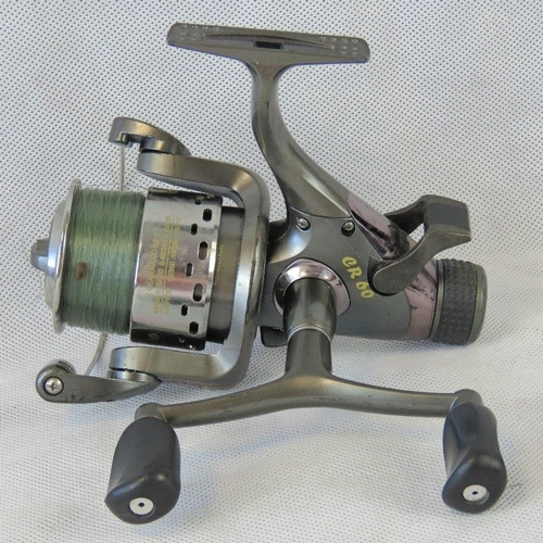 114 - A Lineshooter CR60 Classic reel with 'one way' clutch and 5.2:1 gear ratio. From the personal collec...