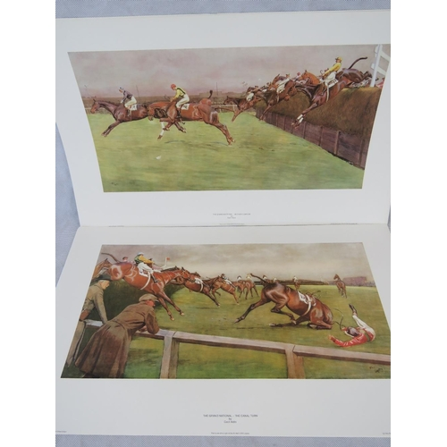 167 - Fifteen Cecil Aldin prints- Nine copies of ''The Grand National - Becher's Brook'' (42cm x 67.5cm) a...