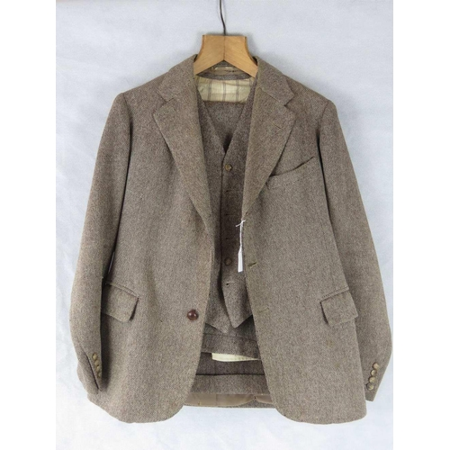 199 - 'Earl Spencer's Suit': a vintage three-piece tweed suit made for Princess Diana's grandfather the 7t...