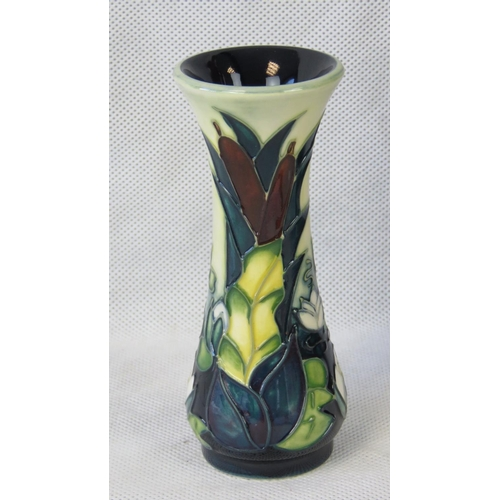 516 - A Moorcroft Lamia vase by Rachel Bishop, 13cm high....