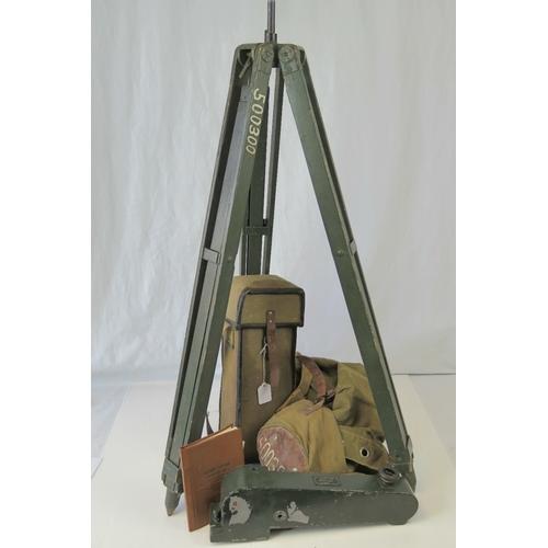 12 - A Soviet range finder/periscope on stand....