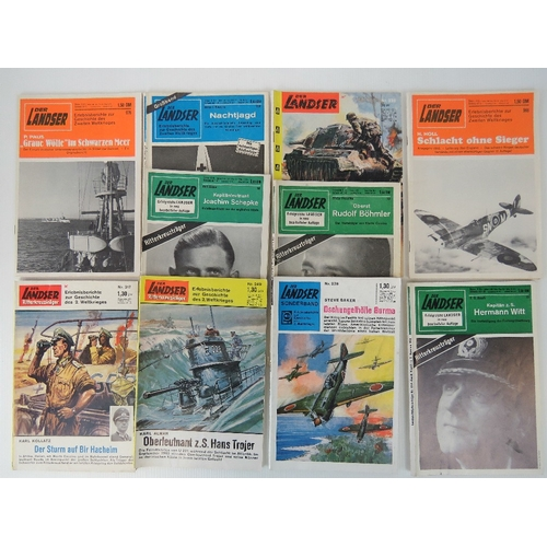 15 - A quantity of c 1950s German magazines 'Der Landser', 10 editions....