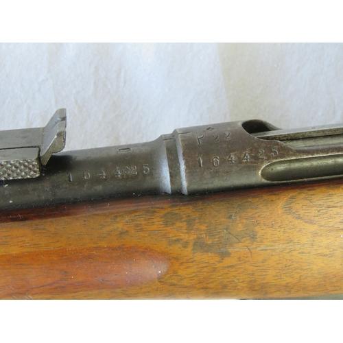 37 - A Swiss military obsolete calibre Schmidt Ruben rifle....