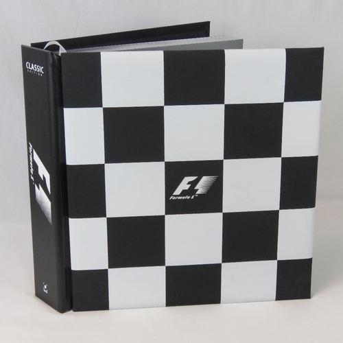 23 - A Formula 1 Opus Classic Edition being eight hundred and forty-five pages within checkered cloth bou...