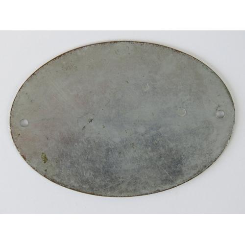 39 - Grosser Preis von Deutschland 1930 - A rare pre-war motor sport award plaque; nickel-plated brass wi...