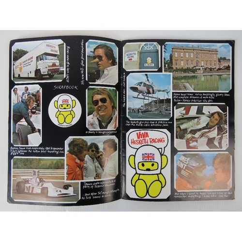 5 - Booklet; 'The heavily censored history of Hesketh Racing' produced for Hesketh racing with contribut...