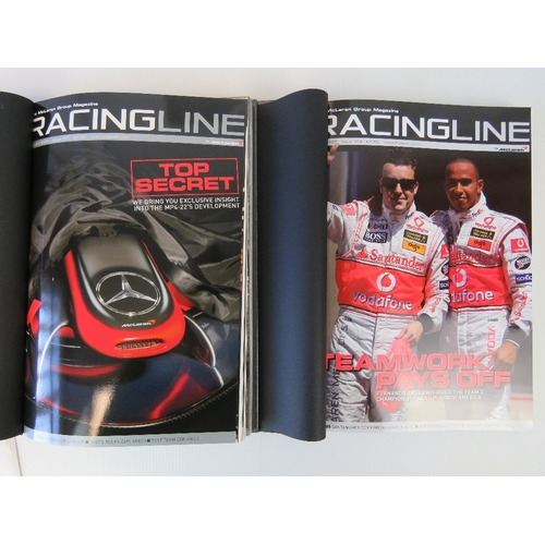 22 - Books; Racing Line 2007, two volumes in a boxed set....