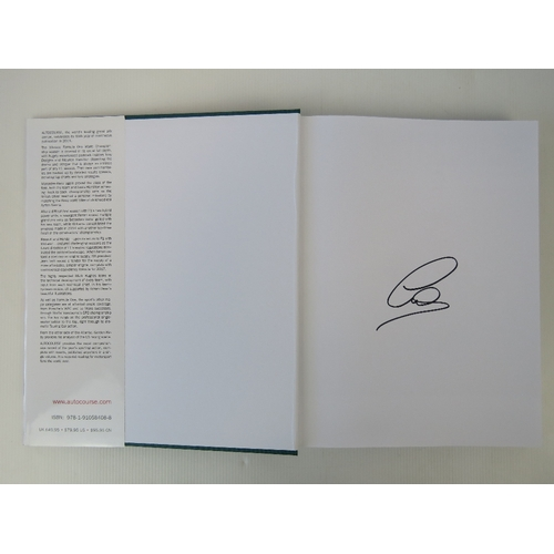 6 - Autocourse 2015-2016 signed by Lewis Hamilton....