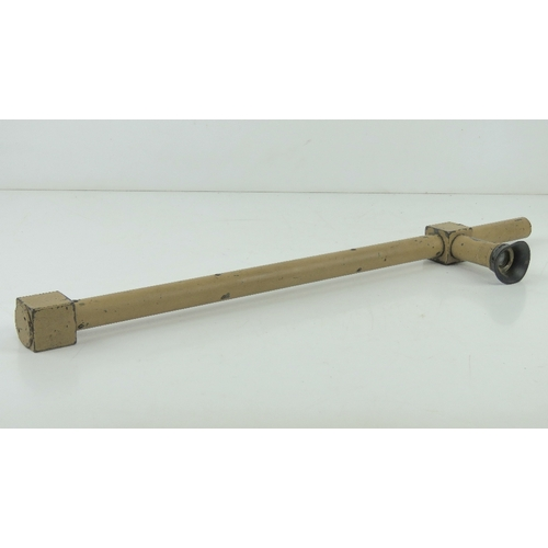 2 - A WWII German Afrika Korp Sniper trench scope, DOW makers mark with serial number 36005.