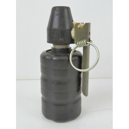 52 - An inert French Anti Riot grenade.