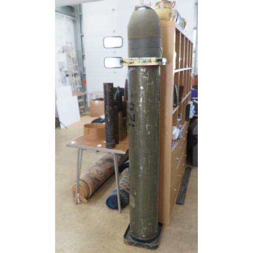 59 - An inert Soviet 9M14 Malyutka missile in transit case.