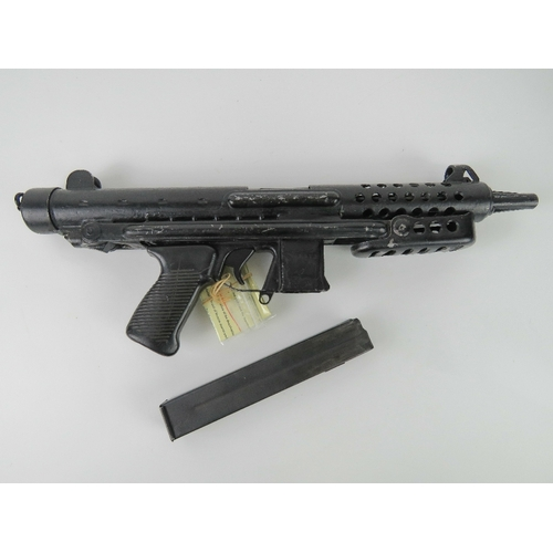 17 - A deactivated Star Z70 9mm Sub Machine gun with moving bolt (under spring pressure), moving safety a...