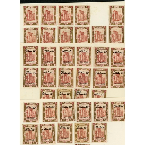 59 - 1915 (April) - THE CORONATION ISSUE - THE STOCK:1915 (Apr) a remarkable mainly mint much duplicated ...