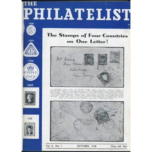 42 - THE PHILATELIST (RL Ltd) Volumes 5-7, 14 & 20 (1938-54) bound and fine (5 vols.)...