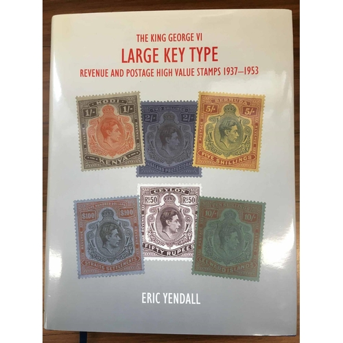 53 - THE KING GEORGE VI LARGE KEY TYPE REVENUE & POSTAGE HIGH VALUE STAMPS 1937-1953 , by Yendall. In goo...