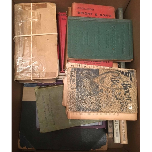 7 - STANLEY GIBBONS early catalogues - 1879? 1st edition, 2nd edition 1880, 3rd ed. 1882, 4th ed. 1884 w...