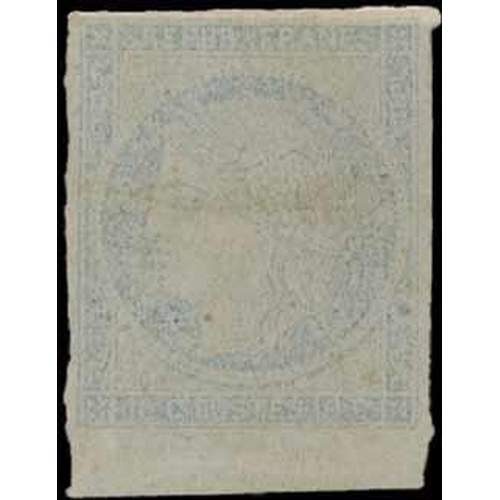 40 - OFFICIAL ESSAY - showing the Governments research into preventing the re-use of stamps. c.1859. Prin...
