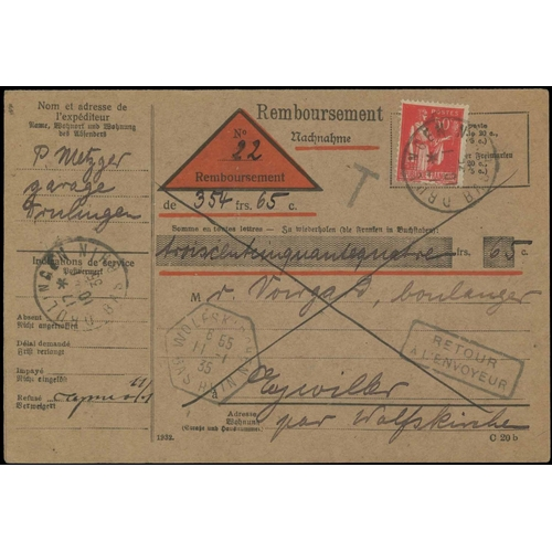 8 - A COLLECTION of Stamp Order Cards c.1942 to c.1956 & Remboursements (COD) service c.1933 to c.1964. ...