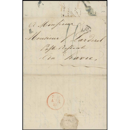 9 - SMALL COLLECTION of a Post Restante study with representation of 19th and 20th century covers. Of sp...