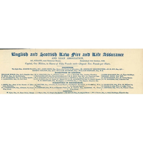 1053 - UNUSED 1d LETTERSHEET WITH ADVERT - stereo A22 (creased, some splitting) unused and with printed adv...