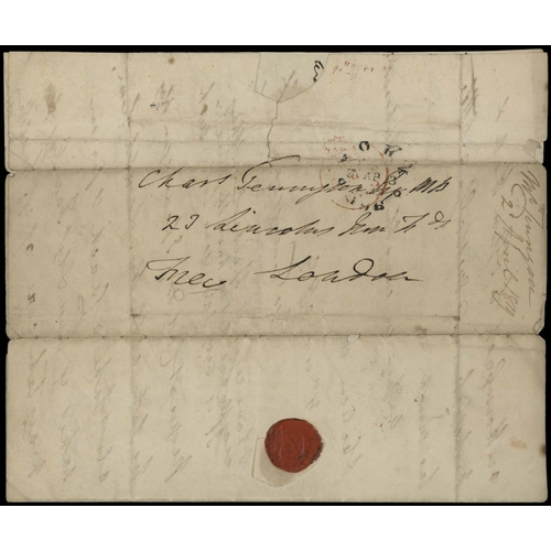 6 - TENNYSON CORRESPONDENCE - This unique lot comprises of six main documents and forms part of a corres...