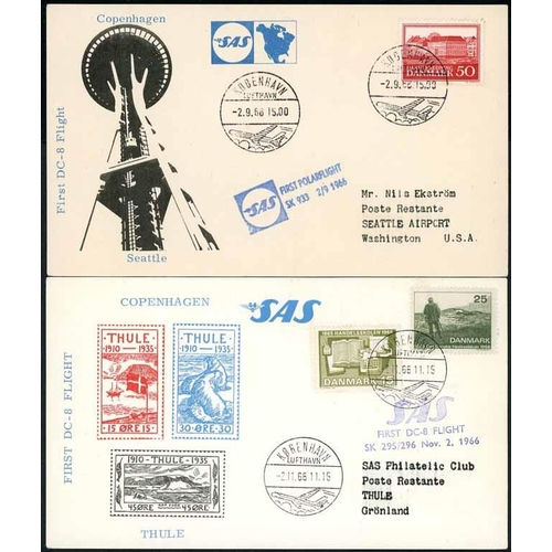 1025 - CARTON - FLIGHT COVERS, ETC.: Collection of mainly C.W. & Europe FDC, first flight & commemorative c...
