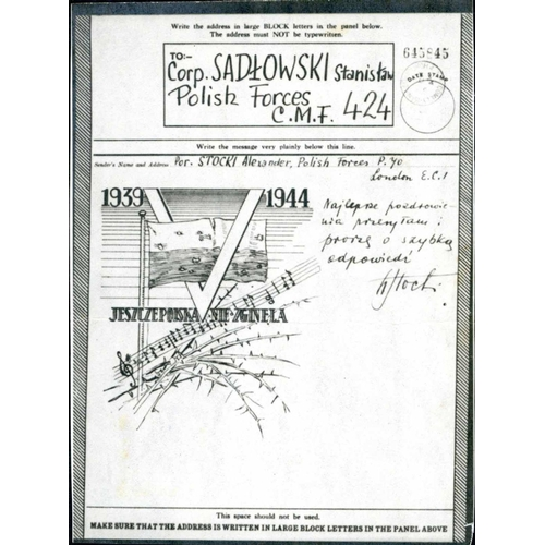 45 - WWII COLLECTION OF AIRGRAPHS - Small carton containing an extensive allied range, mostly Empire, on ...