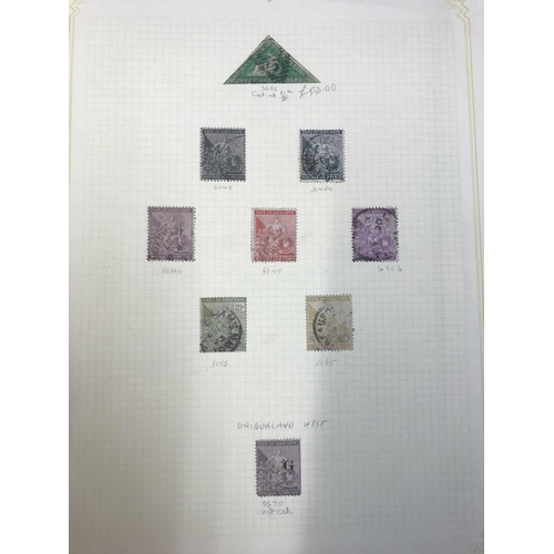 53 - KGV-QEII MINT & USED COLLECTION: Stock book housing the collections of various countries. Main inter...