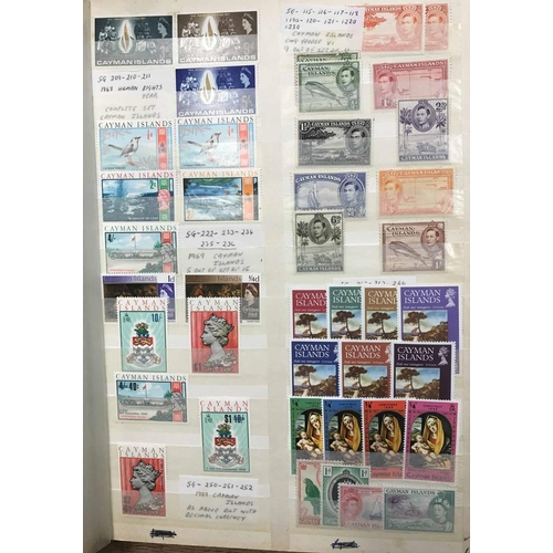 54 - MOSTLY KGVI-QEII RANGE OF PREDOMINANTLY MINT ISSUES for a wide range of Commonwealth countries house...