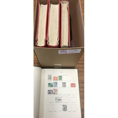 50 - FOUR SG 'NEW AGE' PRINTED ALBUMS with pages for issues 1953-1970, though some addl. pages have been ...