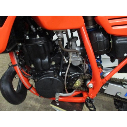 6 - A Honda CR500 RF 1985 Pro-Link, liquid cooled, engine no. 5404669, chassis no. JH2PEO208FC405728...