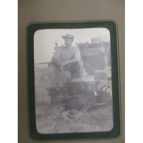 256 - Boer War and military related ephemera relating to James Woolland 1872-1946 to include photographs t...