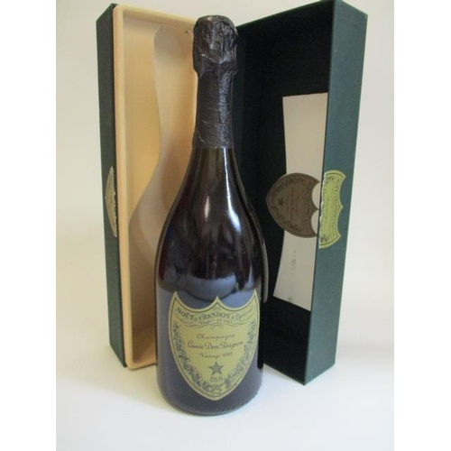 1 - Dom Perignon 1995, boxed and one bottle of Vintage Champagne, 75cl...