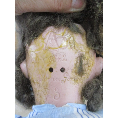 2 - Alt, Beck & Gottshalck bisque headed doll marked AB 1362 Made in Germany 3. Blue closing eyes with e...