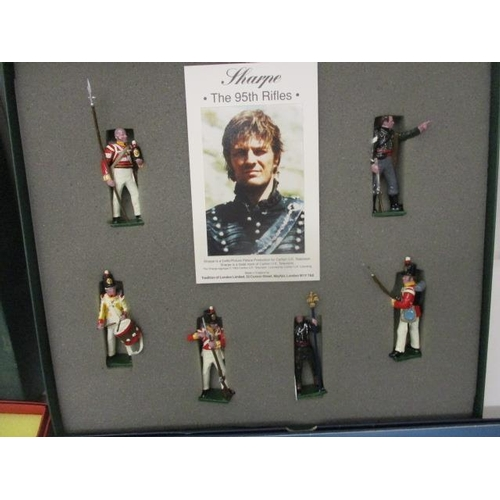 62 - Five boxed sets of painted, cast metal toy soldiers to include Good Soldiers, British Rorkes Drift 1...