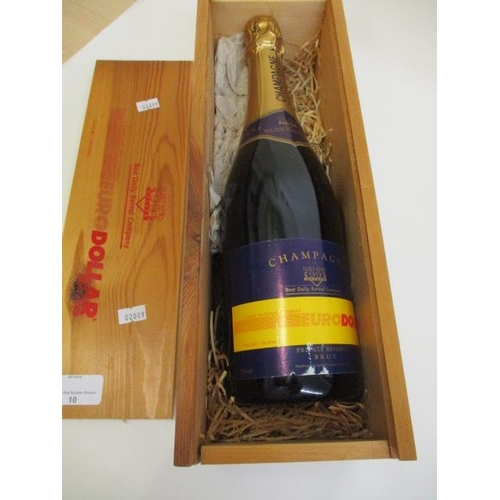 10 - A bottle of Private Reserve Champagne, 750ml, boxed...