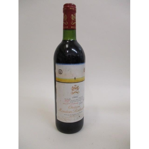 103 - A bottle of Chateau Mouton Rothschild Pauillac 1983...