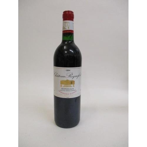 104 - A bottle of Chateau Roquefort Bordeaux 1994...