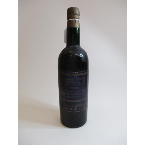 2 - A bottle of Blandys Madeira Solera 1835...